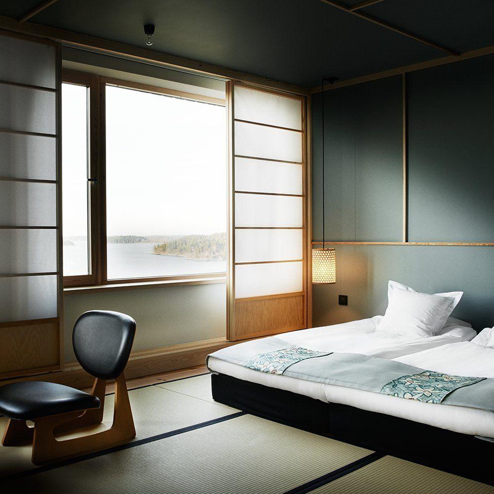 Japansk inredning, konceptet och dekorationsidéerna