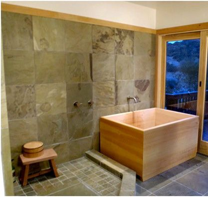 Japansk stil badkar
