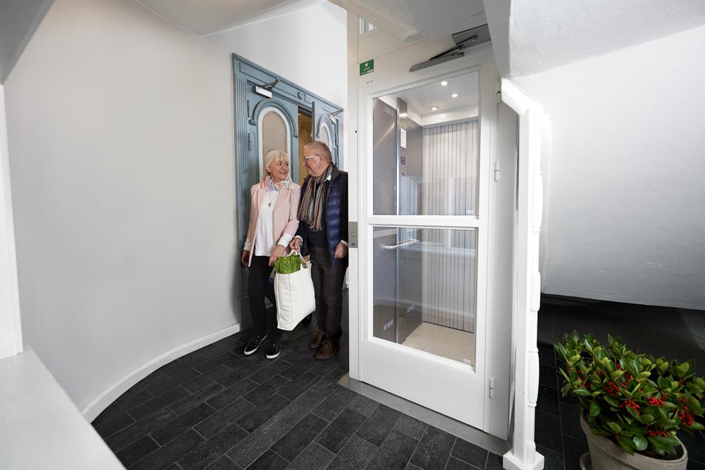Kan jag installera en hiss i mitt hem?