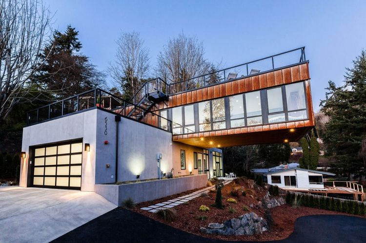 Kirkland Right Residence Designad av Chris Pardo Design