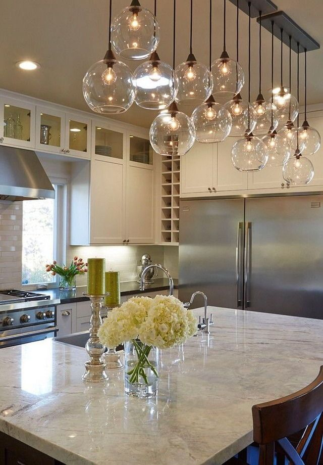Kitchen Island Lighting Idéer
