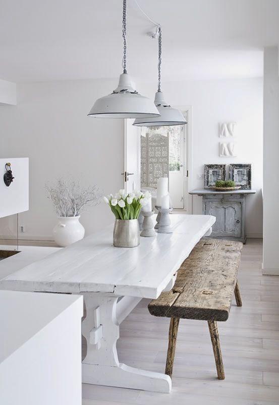 Köksbordbänkar som för samman hela familjen