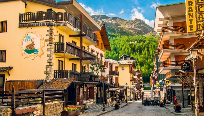 Lägenhet i den vackra och lyxiga Mountain skidområdet