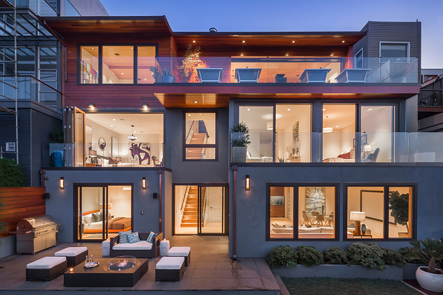 Laidley Street Residence som ger ett djärvt uttalande i design