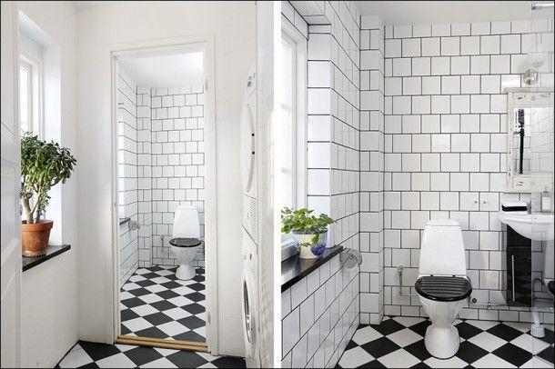 Lavendel badrum idéer