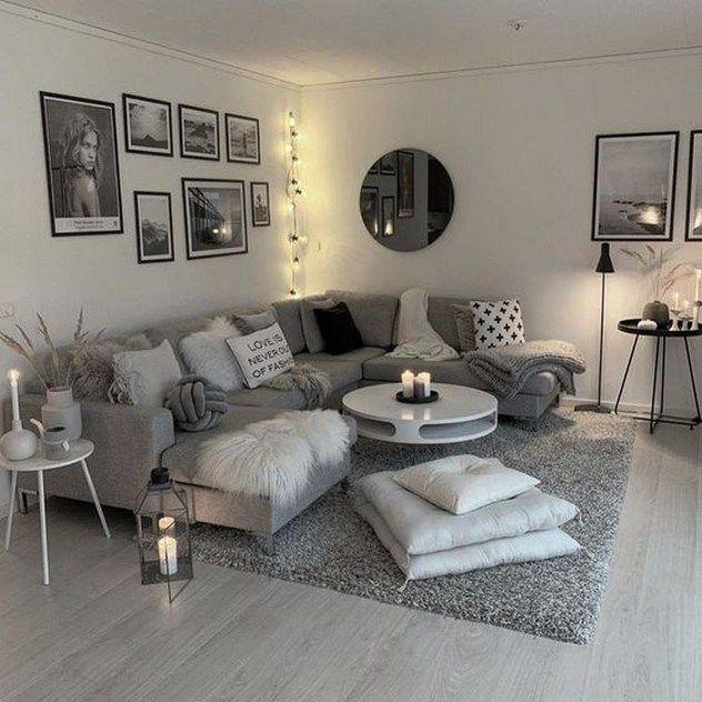 Liten lägenhet vardagsrum idéer på en budget