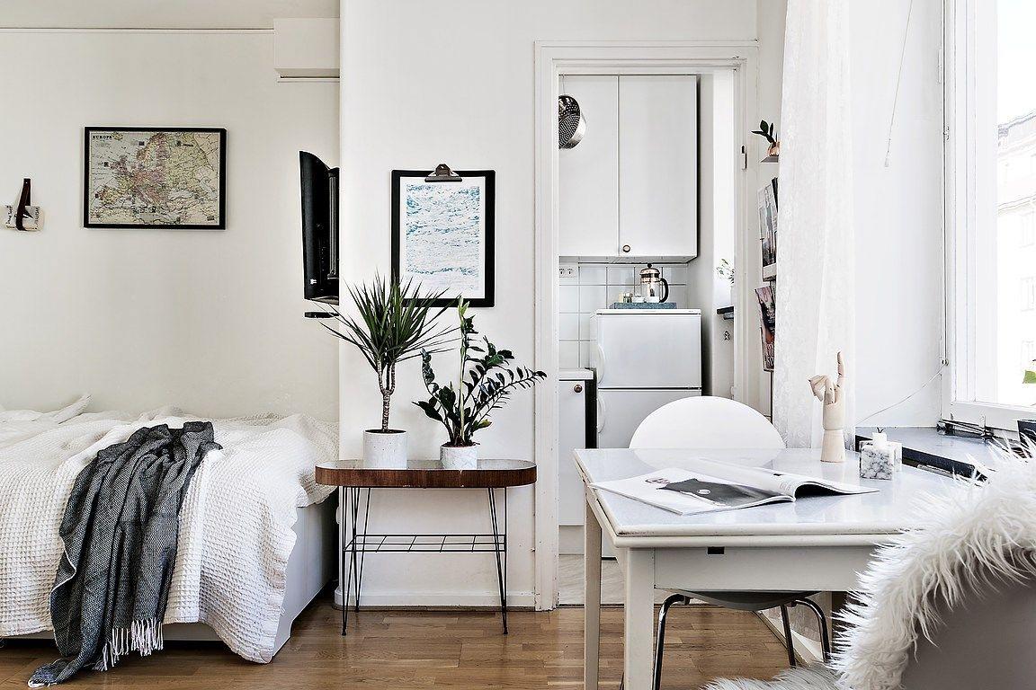 Liten men trevlig lägenhet designad av Le Studio