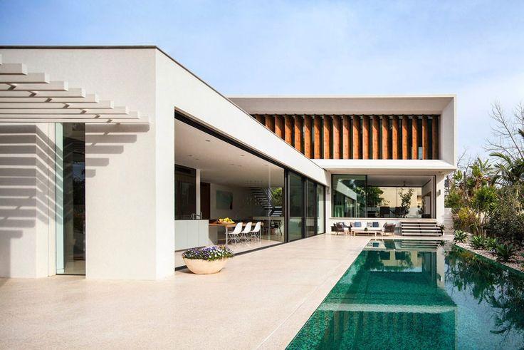 Lyxig villa med modern design från Israel