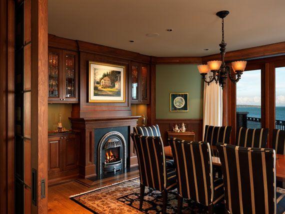 Maclure-stil Ocean-Front Home Windward Oaks av Michael Knight