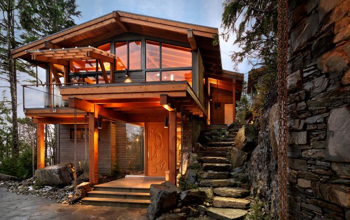 Magic Rustic House designat av Suman Architects