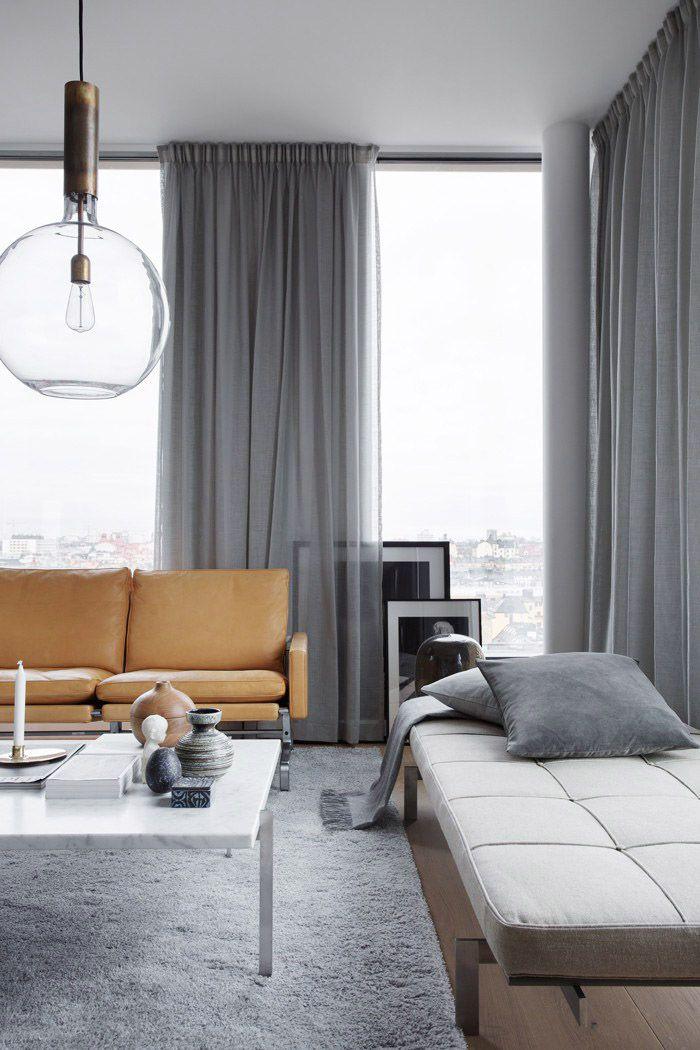 Minimalistiska vardagsrumsidéer att använda i ditt hem