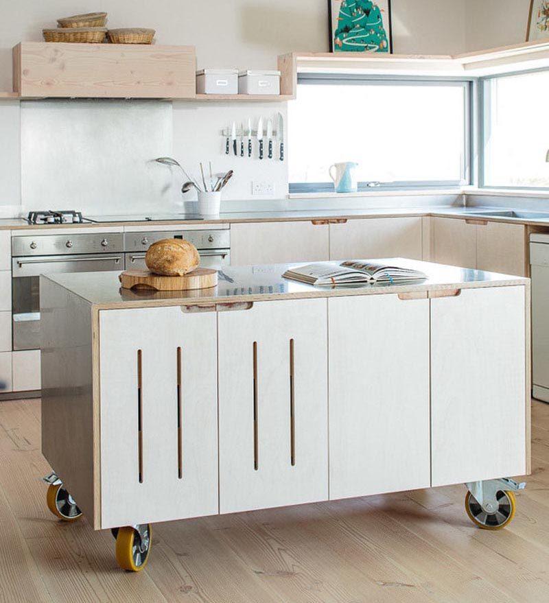 Mobile Kitchen Island Idéer
