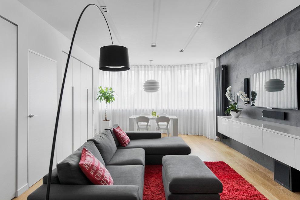 Modern inredning för lägenheten av begåvade designers