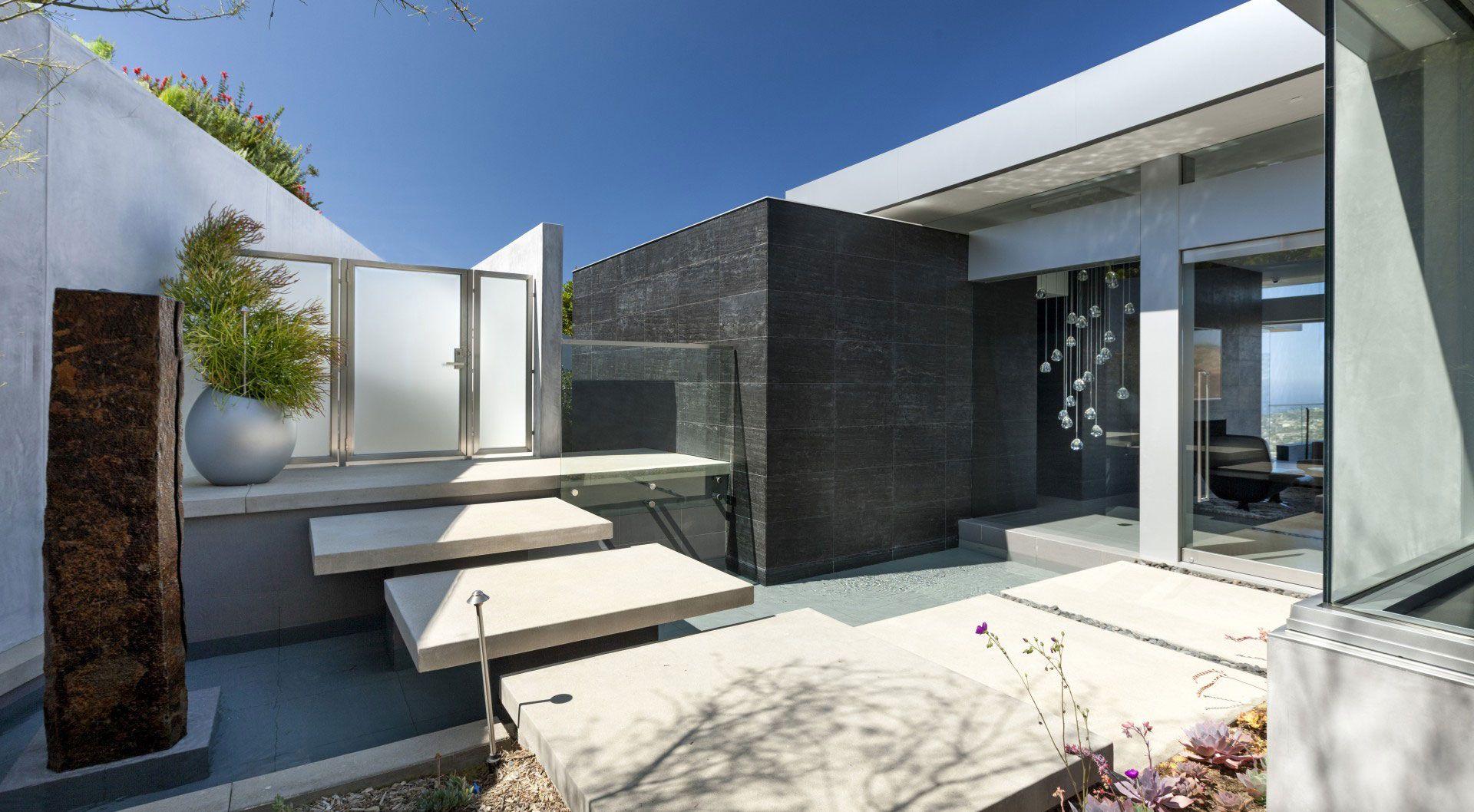 Modern och futuristisk Ellis Residence av McClean Design