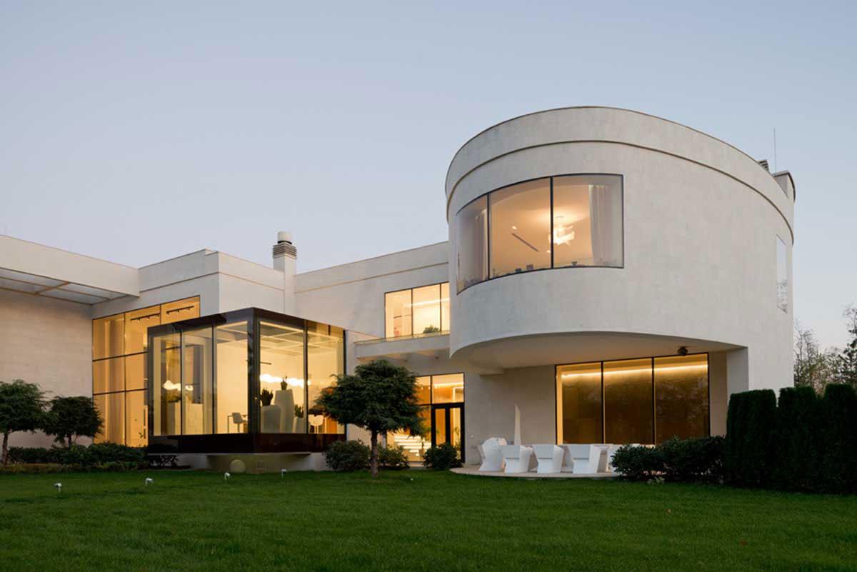 Modern villa nära Moskva Designad av SL * Project