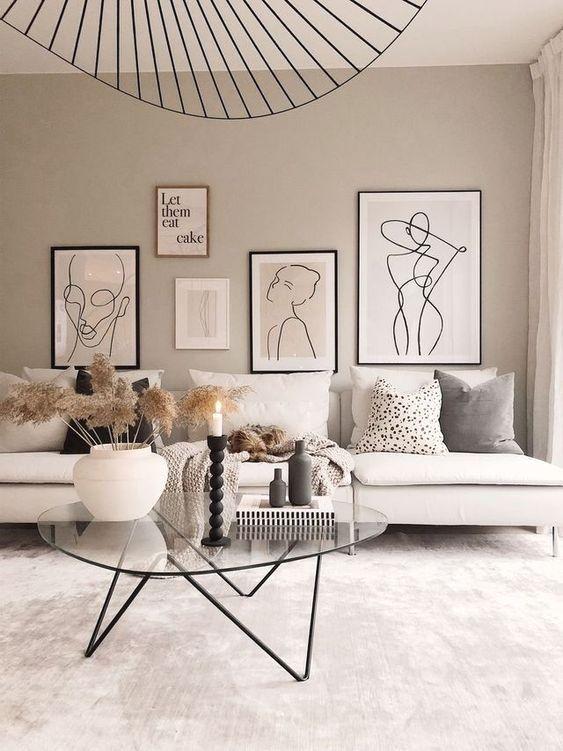 Moderna möbler för inredning