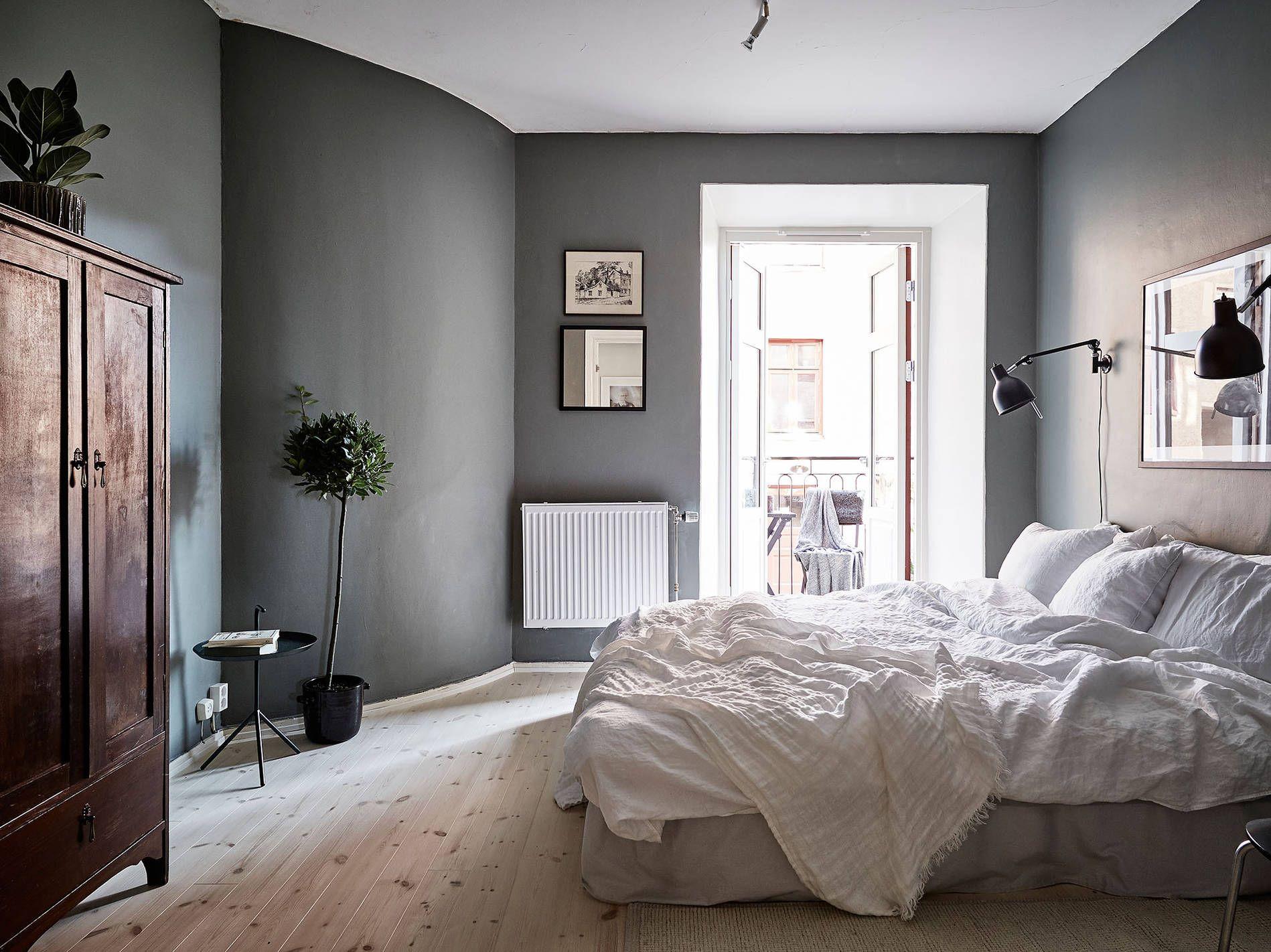 Moderna och eleganta sovrum designade av inredningsarkitekter