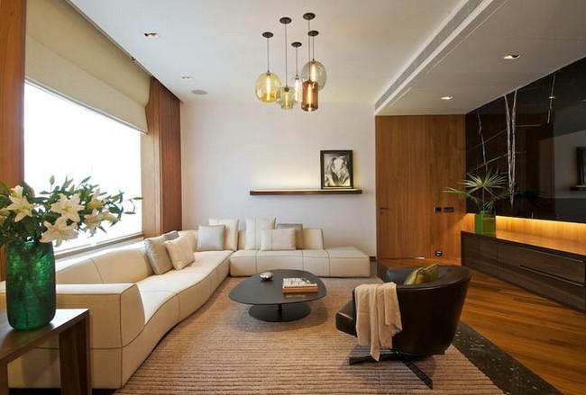 Modernt, elegant och termiskt effektivt hem i New Delhi