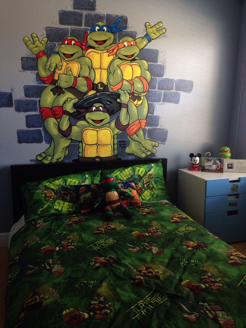 Ninja Turtles sovrumsidéer