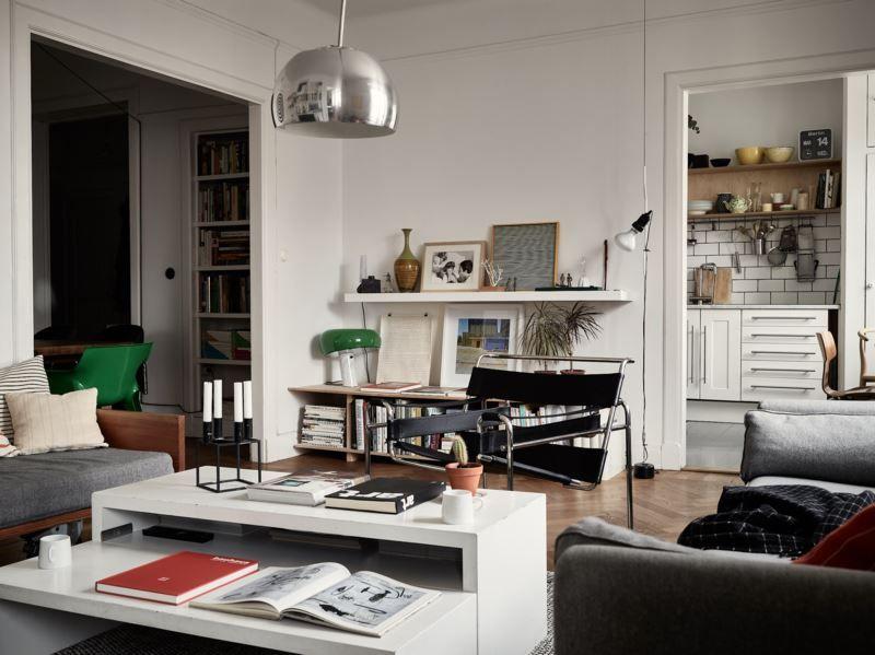 NYC Idéer för lägenhetens inredning