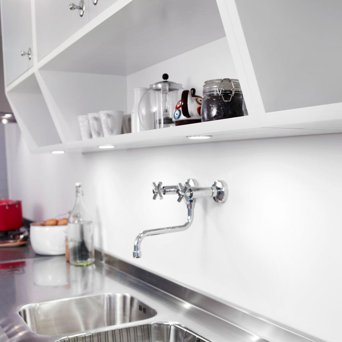 Öppna köksskåp är lättare att använda