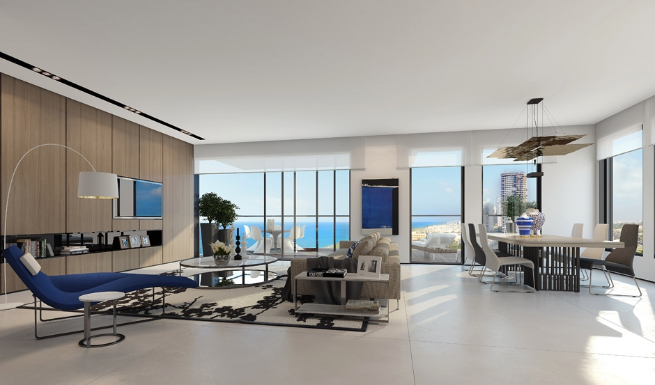 Penthouse design inspiration från Ando Studio