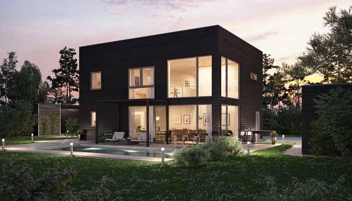 Platsbesparande lösningar för snygga hus