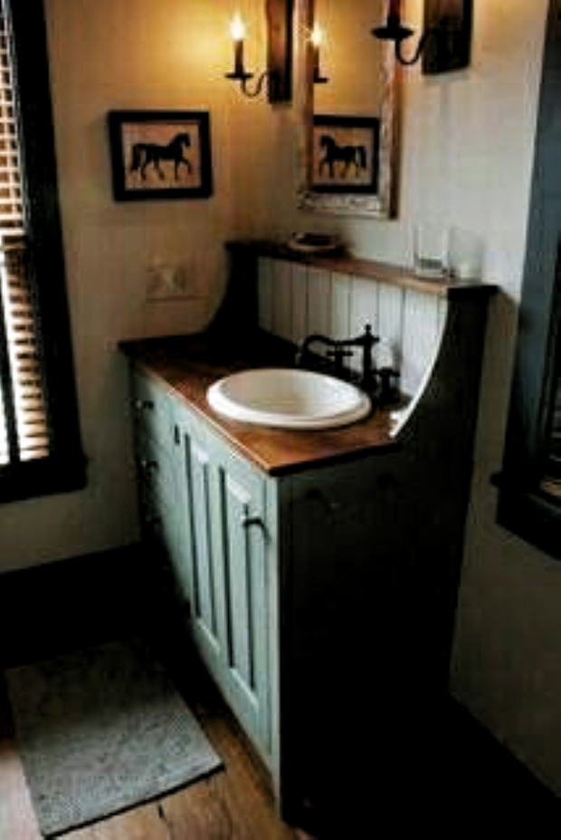 Primitiva badrumsidéer