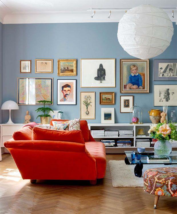 Röda sovrumsidéer: dekor, väggar, färg och möbler