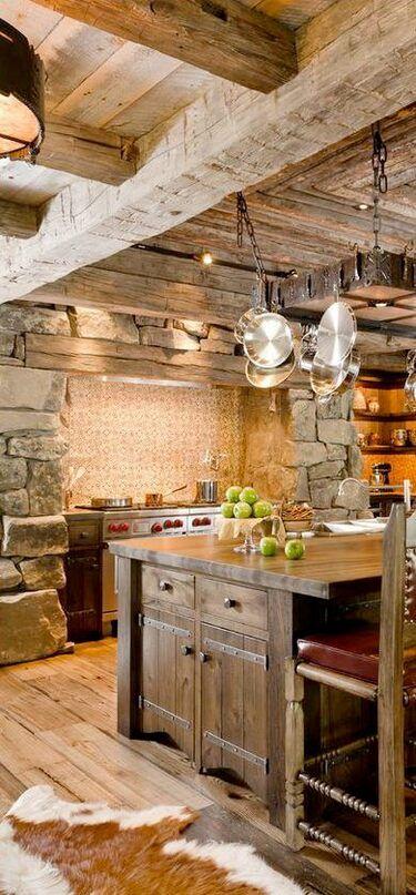 Rustika köksskåp Idéer