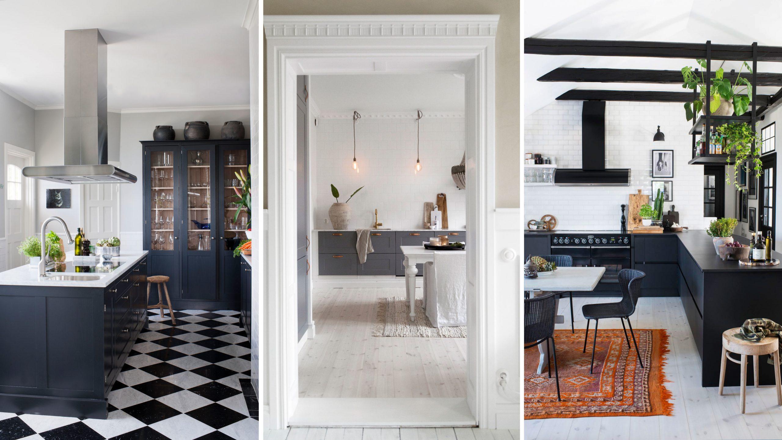 Skapa ett kök Modern inredning för ett modernt hem