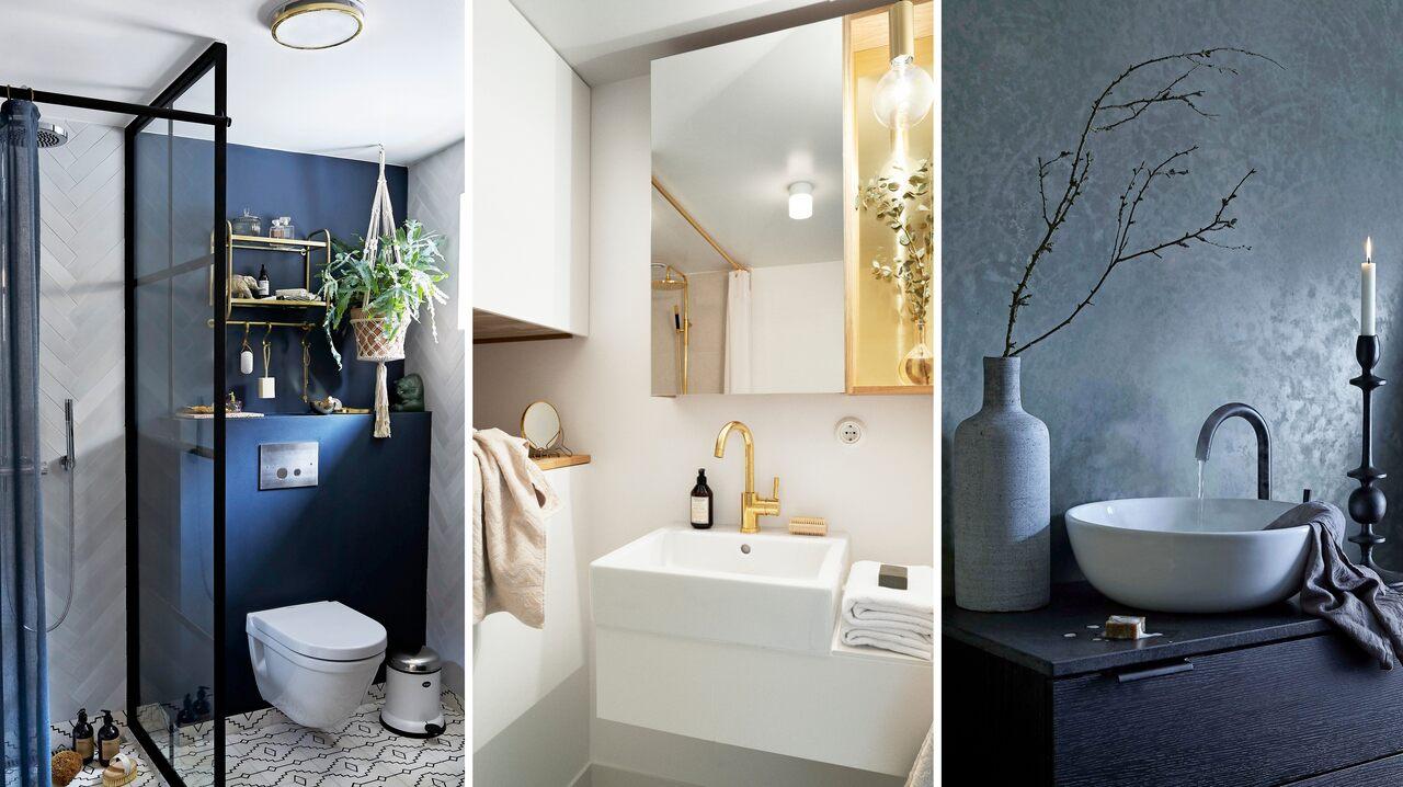 Små designhackar som kommer att förvandla ditt lilla badrum
