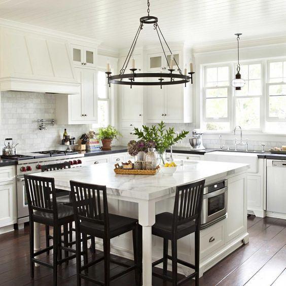 Små Kitchen Island-idéer
