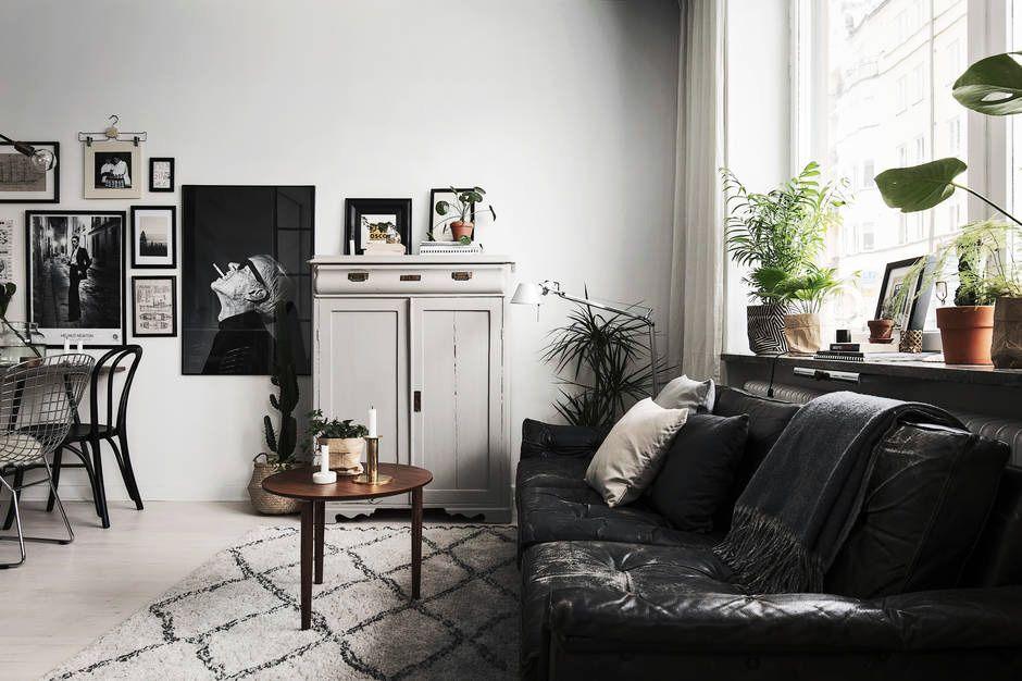 Små lägenhetsmöbler och inredning