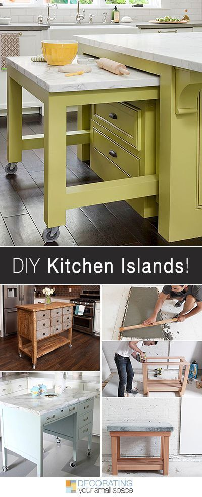 Smala Kitchen Island-idéer