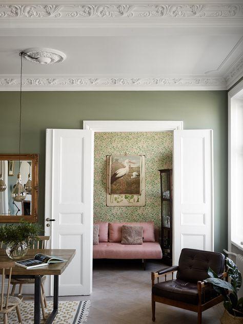 Snyggt brittiskt hem med en rymlig och elegant inredning