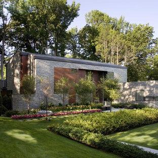 Snyggt hus på Long Island byggt av Narofsky Architecture