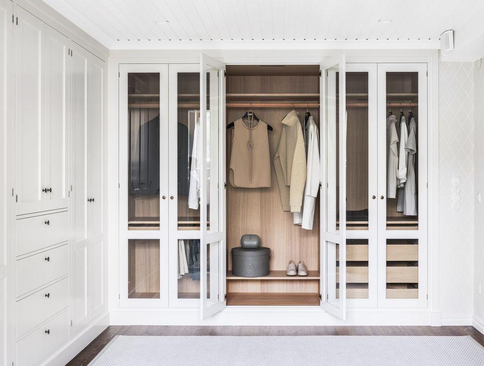 Sovrum garderob designidéer för att organisera din stil
