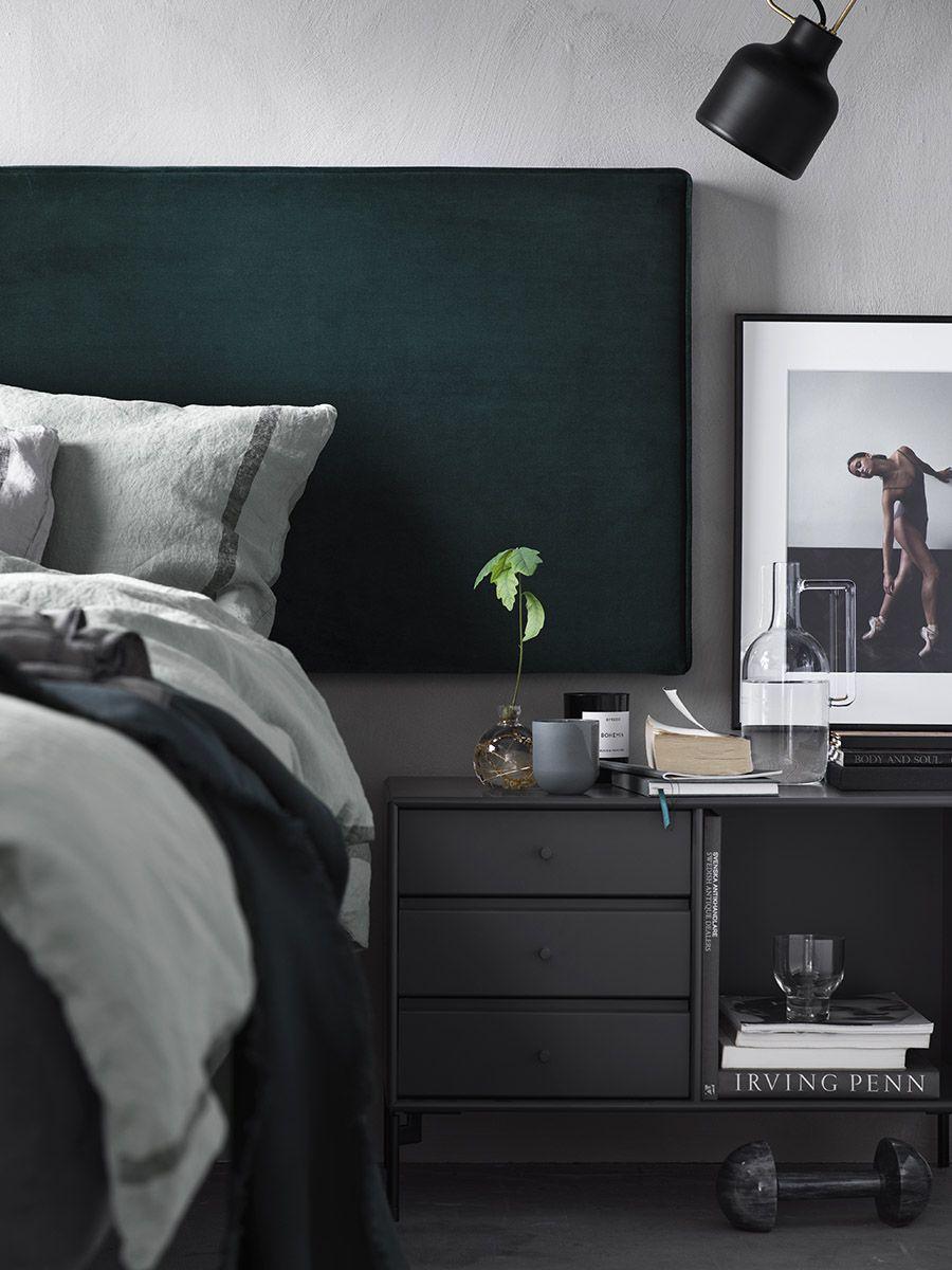 Sovrumsdesignidéer i olika stilar och färger