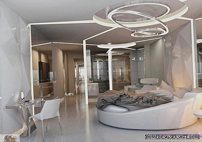 Spännande ny lägenhet med futuristiska designelement som verkligen är oförglömliga