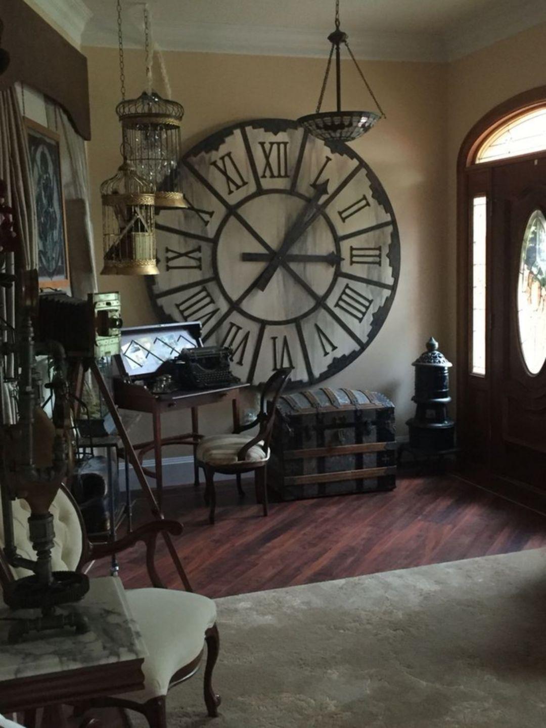 Steampunk inredningsstil och dekorationsidéer