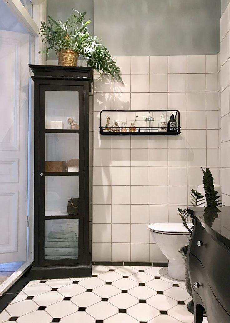 Ta en titt på dessa svarta badrumsinredning