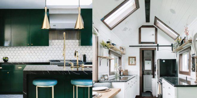 Ta exempel på inredningsidéer för lägenhetskök