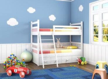 Tips för att skapa ett sovrum som kommer att växa med ditt barn