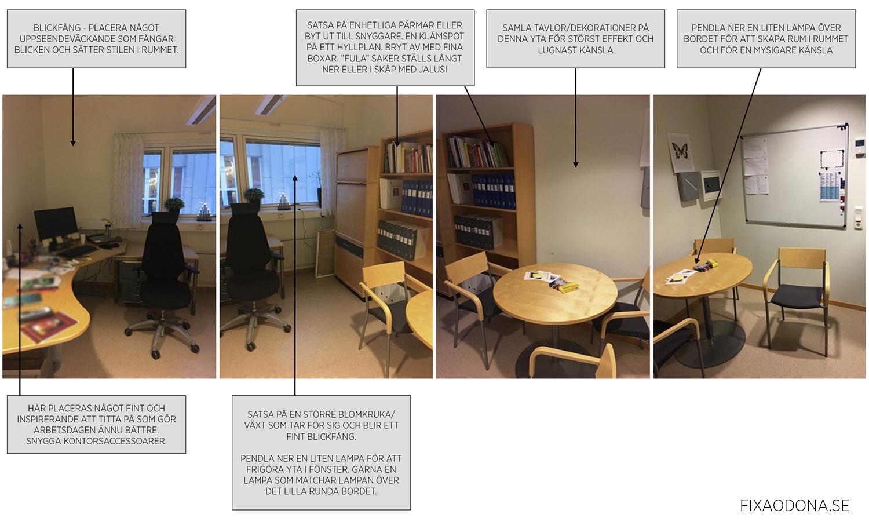 Tips för att utforma ett professionellt kontor