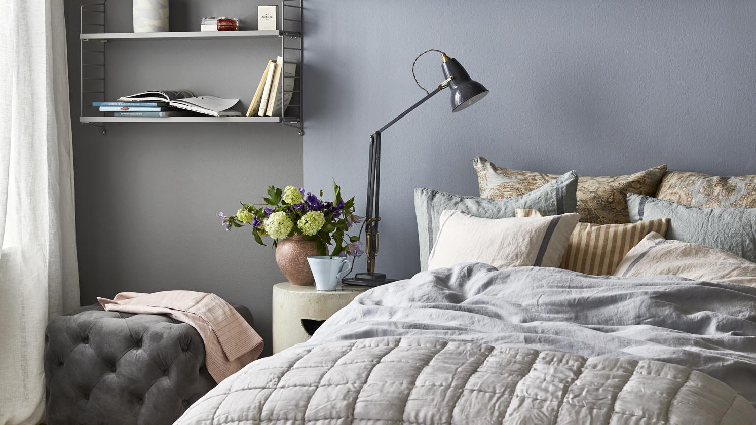 Tips och bilder för belysning av sovrummet
