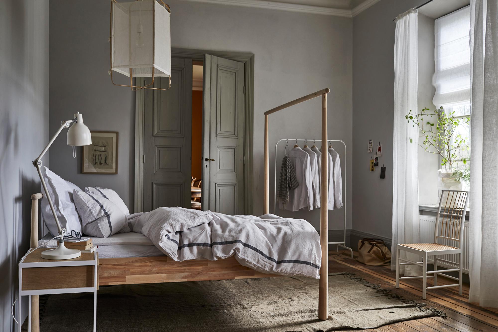 Trevlig inredning av sovrum att kolla in