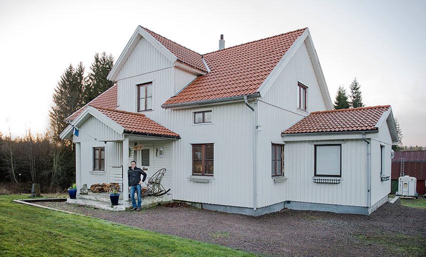 Trevlig renovering av ett hus som gjorts av Grouparchitect