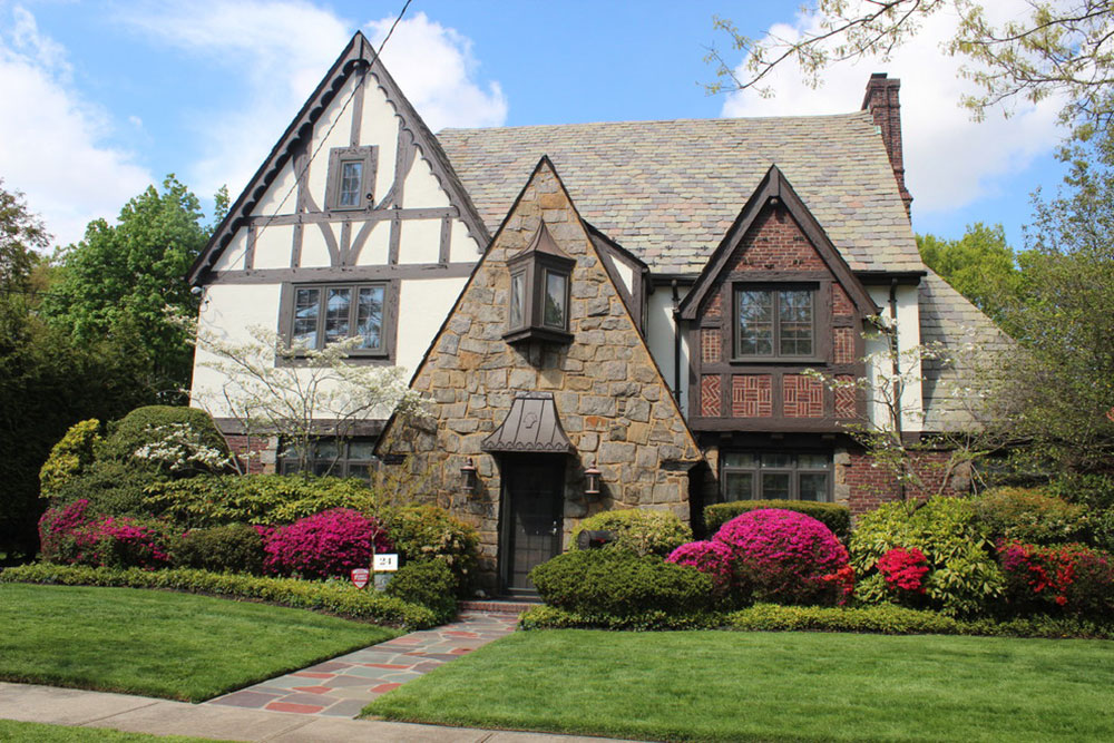 Tudor Style Home – Symbolen för England