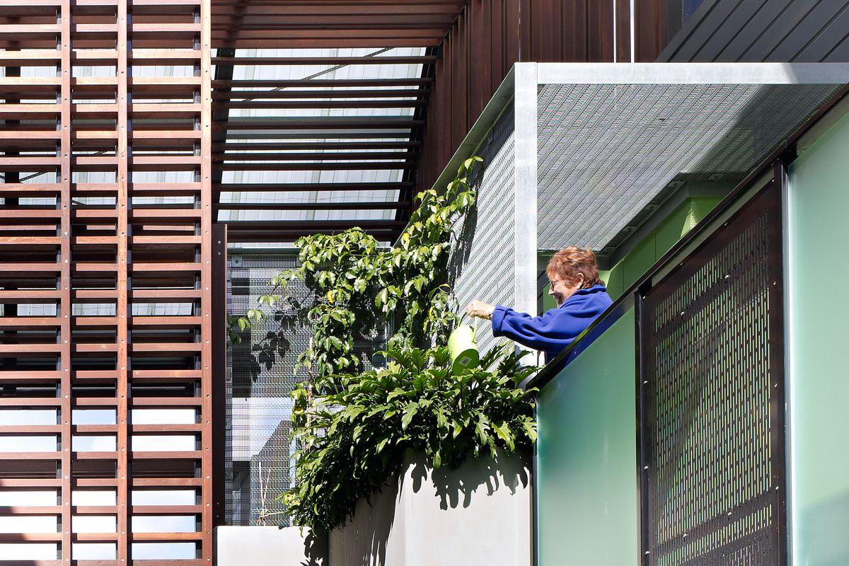 Vackert australiskt hem designat av Studio 15b för ett pensionerat par